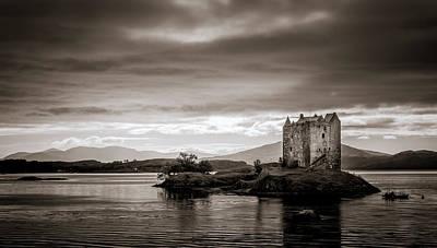 Photograph - Castle Stalker 1 by Niels Nielsen