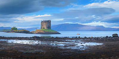 Photograph - Castle Stalker by Alex Saunders