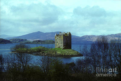 Photograph - Castle Stalker - Appin - Argyll by Phil Banks