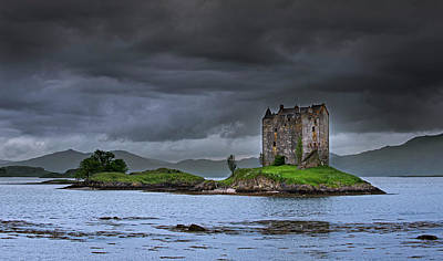 Photograph - Castle Stalker by Arterra Picture Library