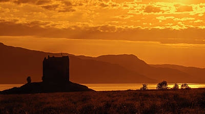 Photograph - Castle Stalker, Scotland by Arterra Picture Library
