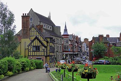 Photograph - Castle Street, Shrewsbury by Tony Murtagh