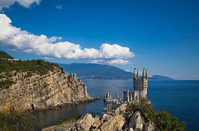 Photograph - Castle Swallow Nest. Yalta. Crimea by Natalia Otrakovskaia