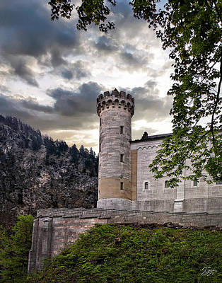 Photograph - Castle Tower by Endre Balogh