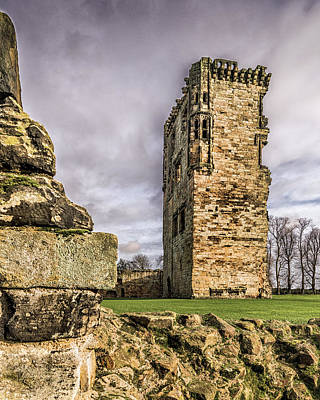 Photograph - Castle Tower by Nick Bywater