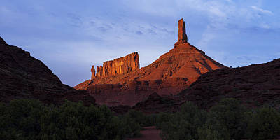 Priest Photograph - Castle Towers by Chad Dutson
