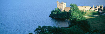 Loch Ness Photograph - Castle Urquhart, Loch Ness, Scotland by Panoramic Images