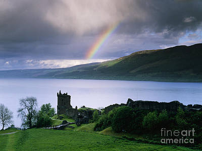 Castle Photograph - Castle Urquhart On The Shore Of Loch Ness by Jeremy Woodhouse