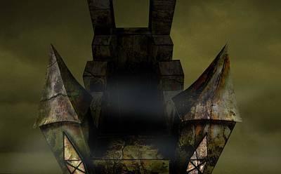Digital Art - Castle by Virginia Palomeque