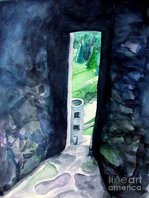 Blarney Castle Painting - Castle View by Vanda Sucheston Hughes