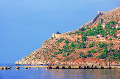 Photograph - Castle Wall In Alanya by Sun Travels