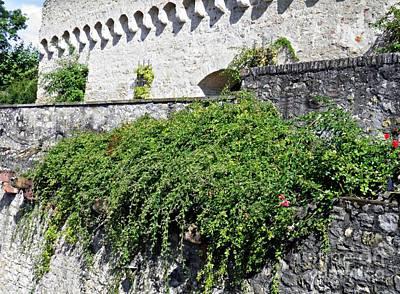 Photograph - Castle Walls 2 by Sarah Loft