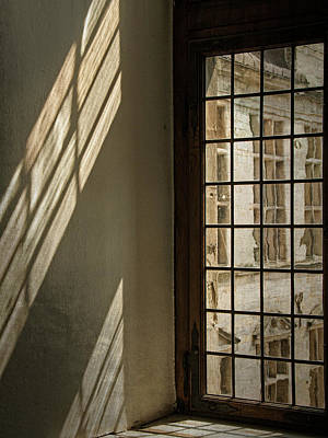 Photograph - Castle Window Light - 365-79 by Inge Riis McDonald