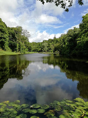 Photograph - Castlecomer Lake by Martina Fagan