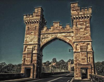 Photograph - Castlecrag Bridge - A  Collaboration by VIVA Anderson