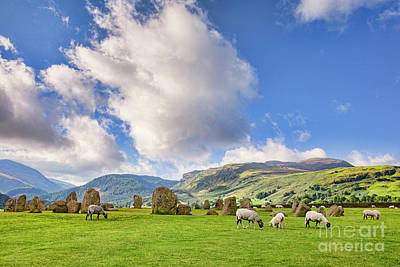 Castlerigg Stone Circle Art Print by Colin and Linda McKie