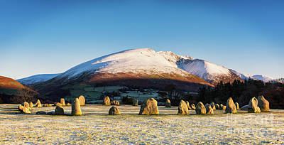 Neolithic Photograph - Castlerigg Stone Circle by Janet Burdon