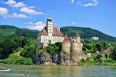 Castles Along The Danube  Art Print