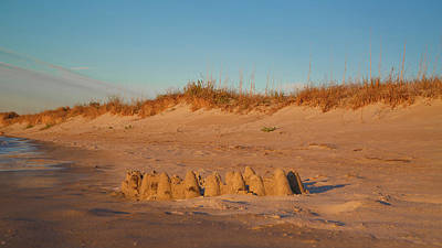 Sand Castles Photograph - Castles by Betsy Knapp