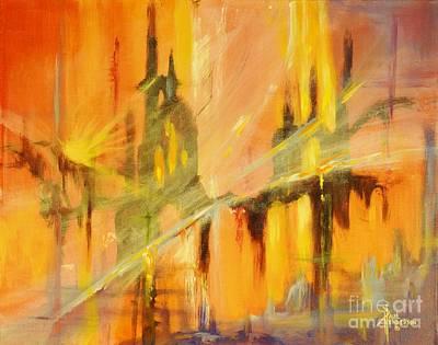 Castles In The Sky Original by Paul Henderson