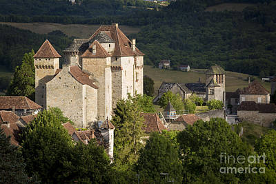 Photograph - Castles Of Curemonte by Brian Jannsen