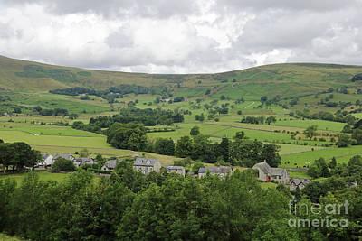 Photograph - Castleton Derbyshire by Julia Gavin