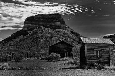 Photograph - Castolon Ghost Town by Renee Hong