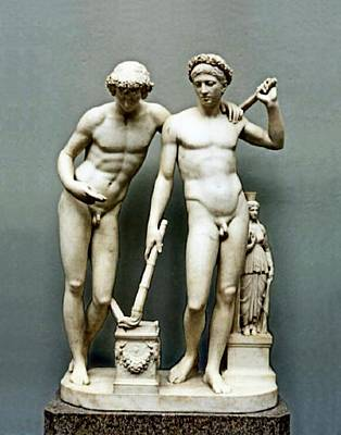 Painting - Castor And Pollux by Joseph Nollekins