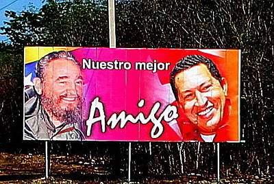 Photograph - Castro And Chavez by Laurel Talabere
