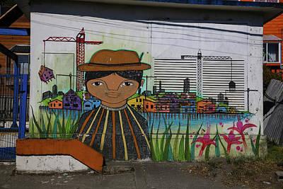 Photograph - Castro Mural by John Haldane