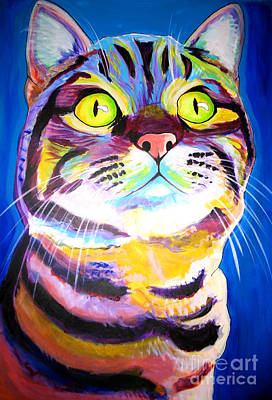 Painting - Cat - Akiko by Alicia VanNoy Call