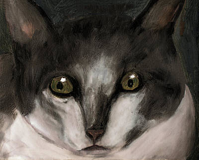 Painting - Cat 1 by Ken Figurski