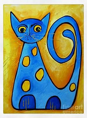 Painting - Cat 4271 by Marek Lutek