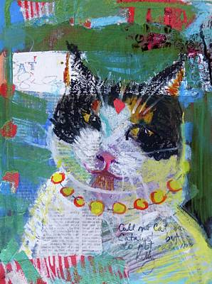 Painting - Call Me Cat by Tracy Haines