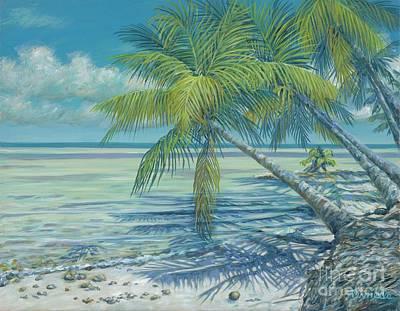 Cat Cay Chill Art Print