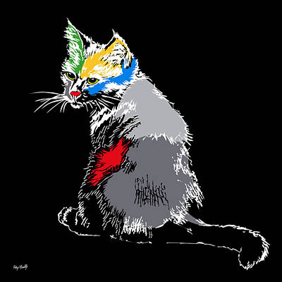 Cat Color Original by Roby Marelly