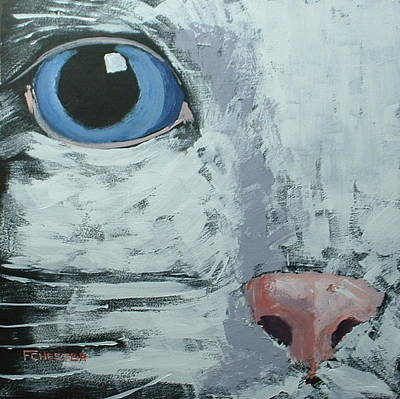 Painting - Cat Eye by Francis Chester