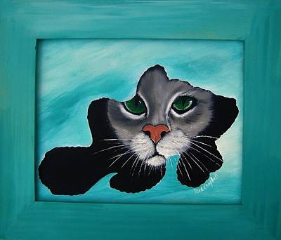 Painting - Cat-fish by Debra Campbell