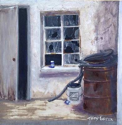 Painting - Broken Windows by T Fry-Green