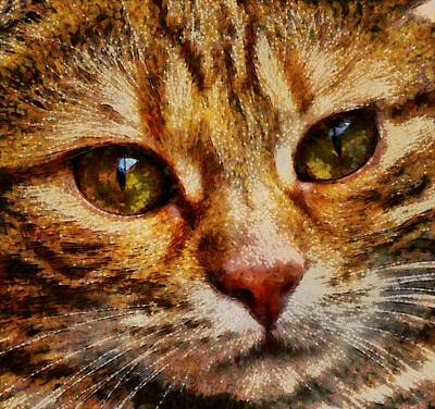 Royalty Free Images Painting - Cat - Id 16218-130641-8659 by S Lurk