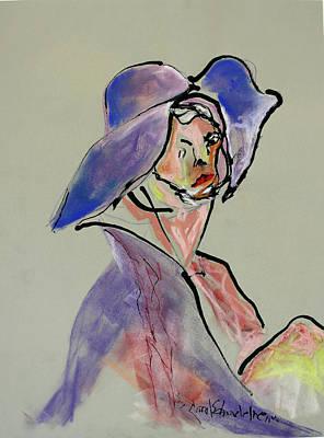 Painting - Cat In The Hat by Carol Schindelheim