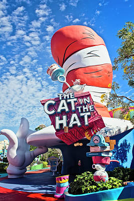 Photograph - Cat In The Hat Series 2999 by Carlos Diaz