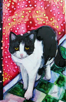 Painting - Cat Magic by Kimbo Jackson