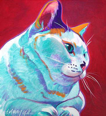 Painting - Cat - Pixie by Alicia VanNoy Call