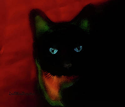 Digital Art - Cat Tiny You Painting by Miss Pet Sitter