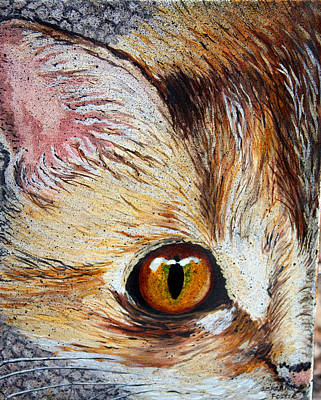 Painting - Cat Visions by Lorraine Foster