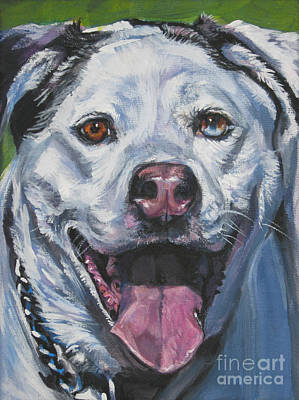 Painting - Catahoula Leopard Dog by Lee Ann Shepard