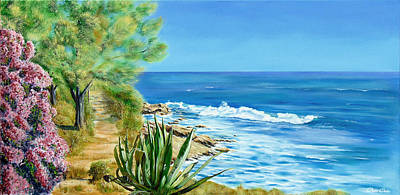 Painting - Catalan Coast by Christopher Childs