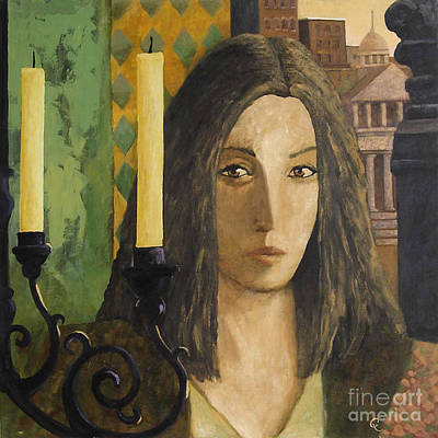 Painting - Catalan Woman by Glenn Quist