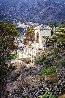 Catalina Chimes Tower On Catalina Island Art Print by Paul Velgos